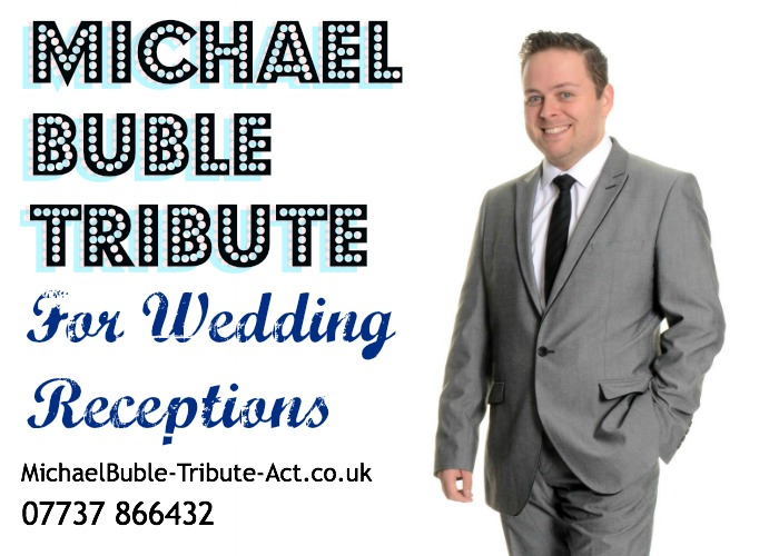 Michael Buble Tribute Act for Wedding Receptions
